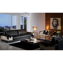 Luxury genuine leather sofa sets for home