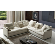 Fancy camerich style fabric home sofa