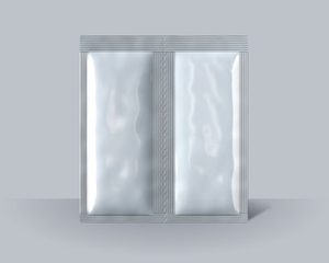 4 sides double pouch with perforation