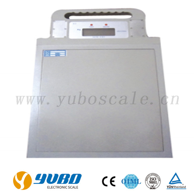 Ultra-slim weigh pad axle scales 2t