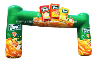 RB21030(13.3x8m) Inflatable Product Promotion Arch/ Inflatable Brand Customized Arch