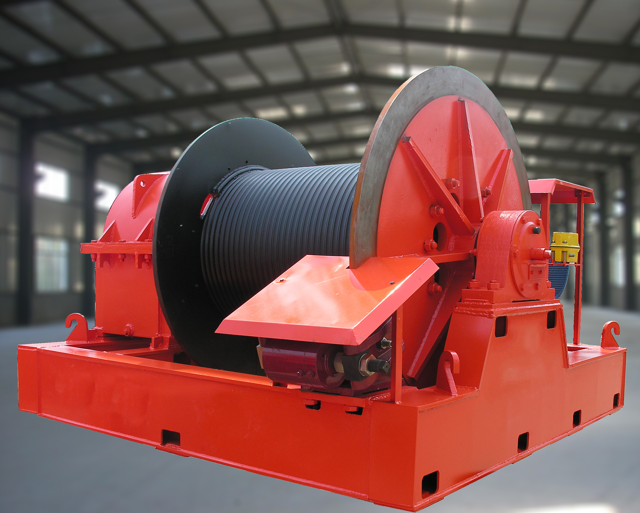 JMM Frictional Electric winch