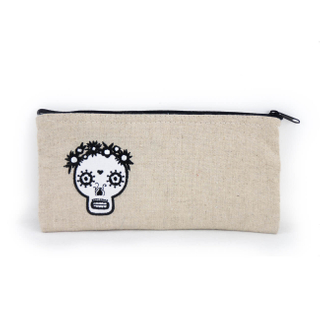 Canvas pen bag pencil makeup bag Stationery bag