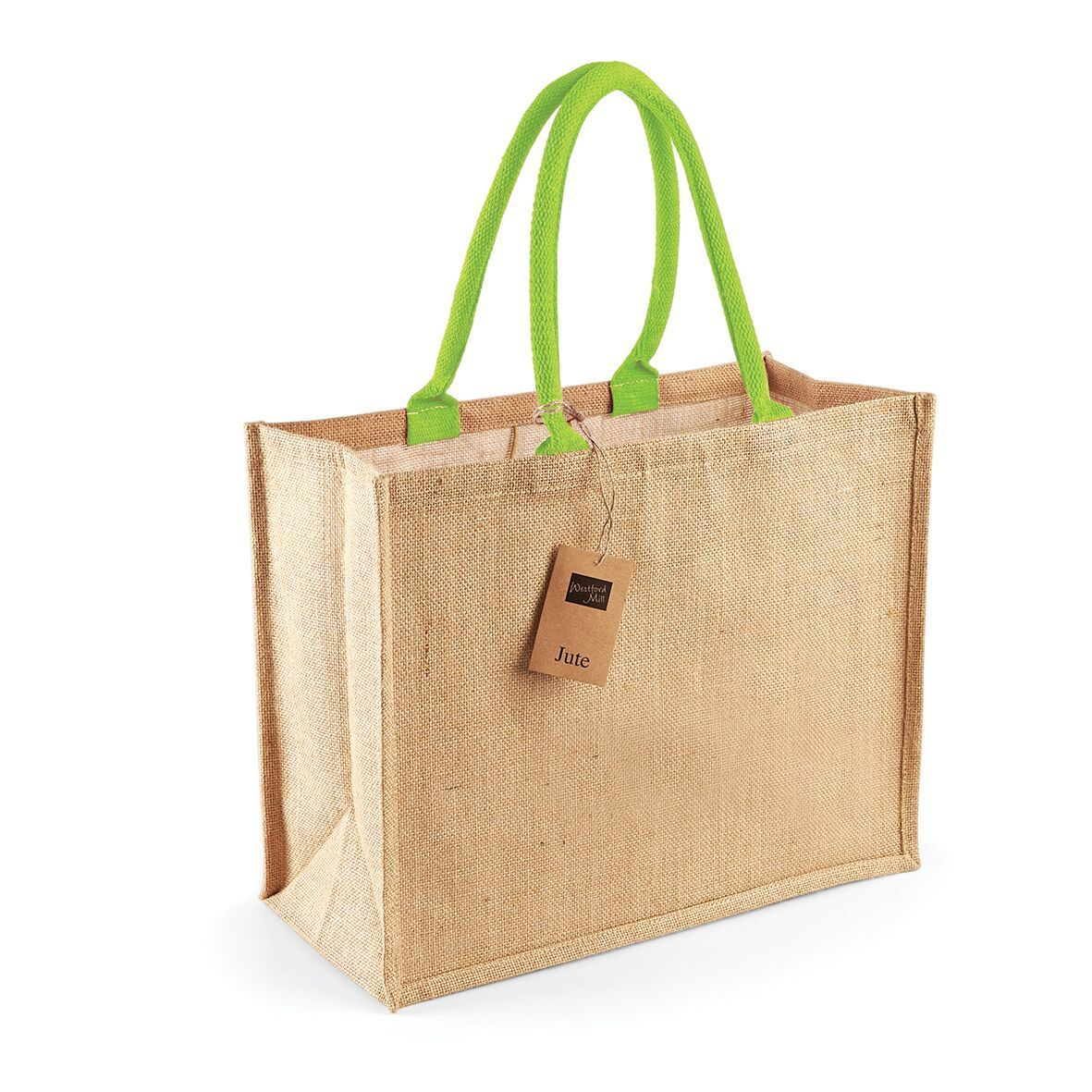 New Classic Jute Tote Natural Shopper Shoulder Bag