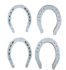 Aluminum alloy die forging horseshoes