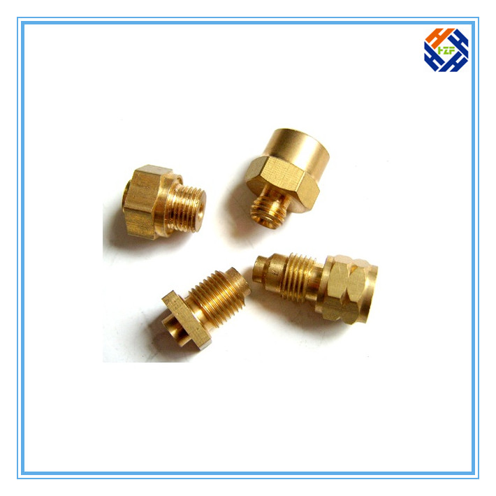 Brass CNC Machined Part for Machinery-5