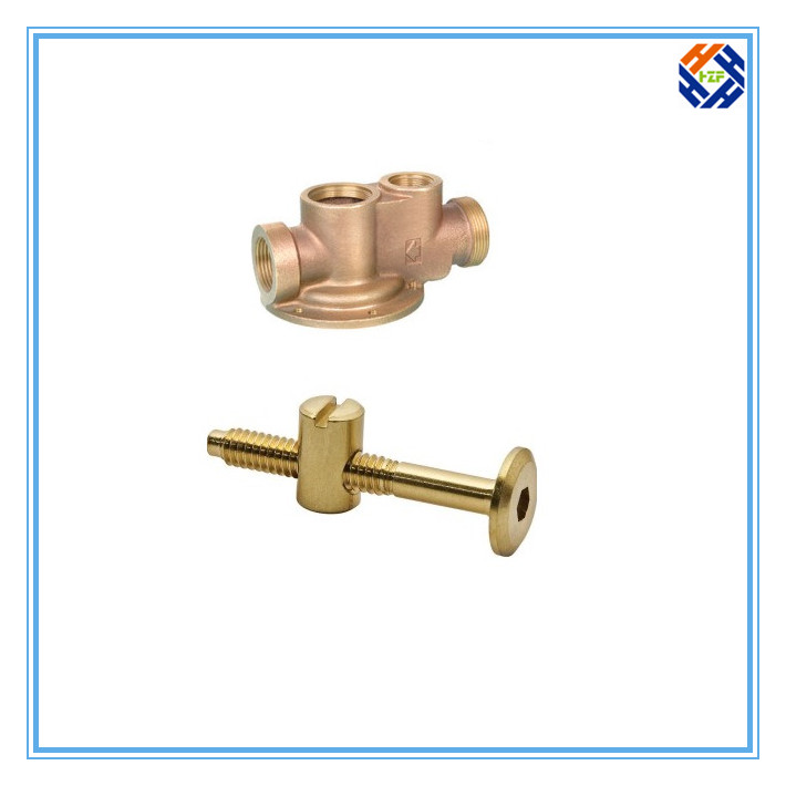 Brass Fasteners Bolt by CNC Machining-2