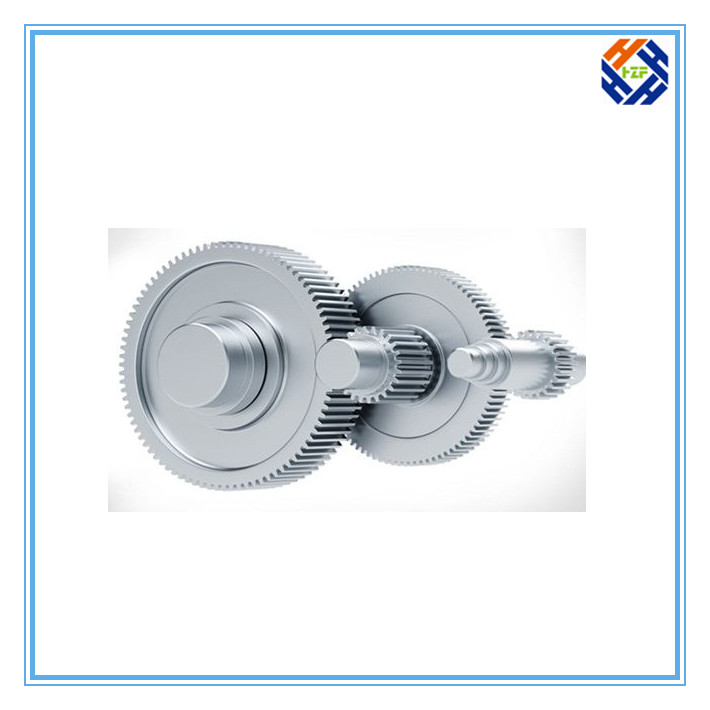 CNC Machined Parts for Gear and Gear Reducer-5