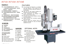 CNC Milling Machine Model:XK7124-XK7124A-XK7124B