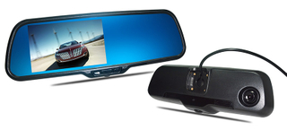 Android rearview mirror DVR with gps naviagation