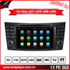 "7""car dvd player 2+16G benz e cls g android gps navigation"