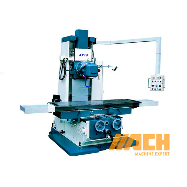 X715 China Manufacturer Bed Type Vertical Universal Milling Machine