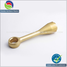 CNC Machined Part, Aluminum/Brass/Steel/Stainless Steel Parts for Motorcycle (AL12026)