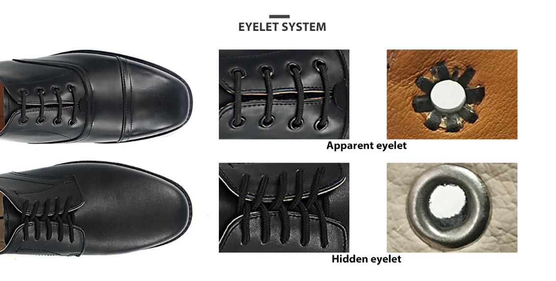 ما هي الثقوب الأحذية المختلفة للأحذية العسكرية V2