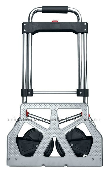 Foldable Chrome-Plated Steel Hand Trolley (HT022FKD)