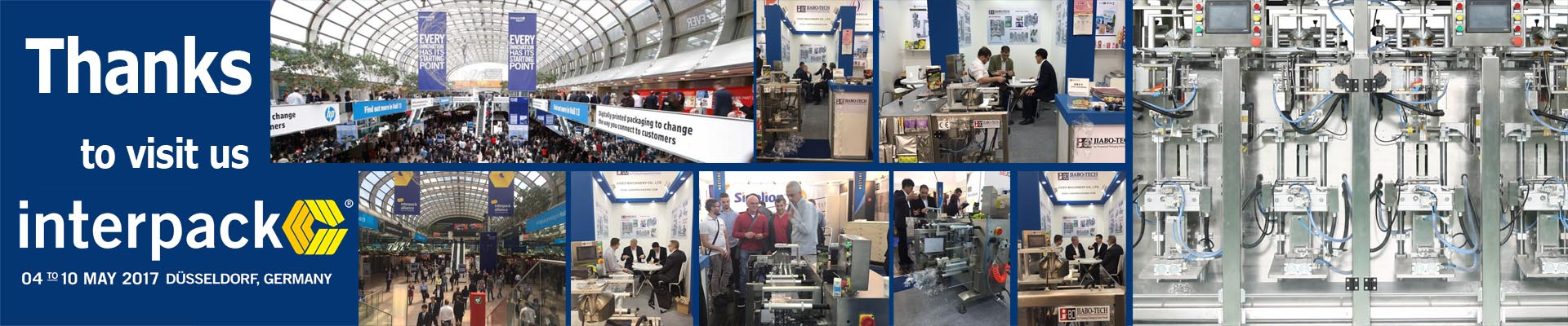 thanks to visit us at interpack 2017