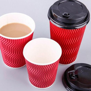 Disposable Ripple Wall Coffee Paper Cup