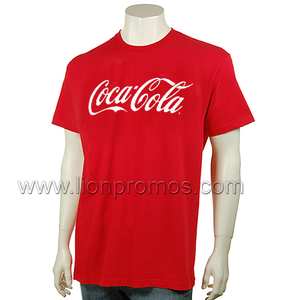 Coca Cola Promotional Gift Cotton T Shirt