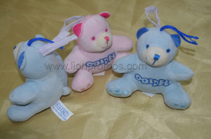Oridel Logo Embroidery Baby Plushing Teddy Bear Toy