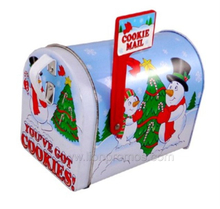 Lovely Mail Box Shape Children Christmas Gifts Coin Bank Storage Box