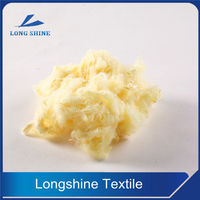 Yellow Polyester Staple Fiber