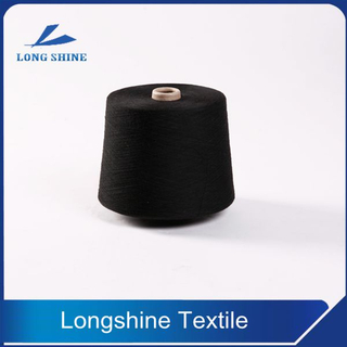 Black Polyester Ring Spun Yarn