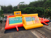 Popular Commercial Inflatable Football Court Soccer Arena Inflatable Soccer Field