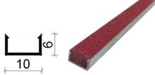 金刚砂地下室防滑坡道防滑条-10*6 mm