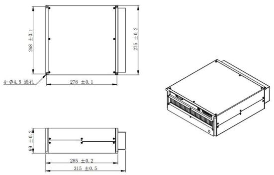 LM1 60W 70W 尺寸图