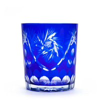 yayun hot sale exquisite hand cut stemless drinking glass cup and whiskey tumbler
