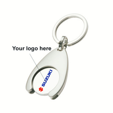 Customized keychains with print logo for promotion