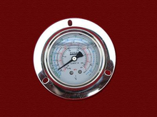 PG-069 Liquid Pressure Gauge with back connection with flange