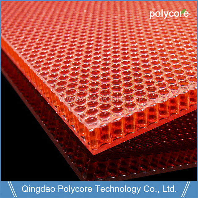 Polycore PC honeycomb sandwich panel