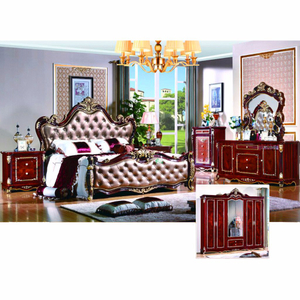 W813A Bedroom Furniture Sets with Classical Bed