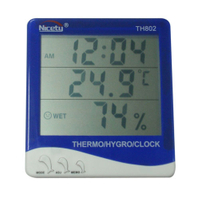 Hygro-Thermometer Clock TH802