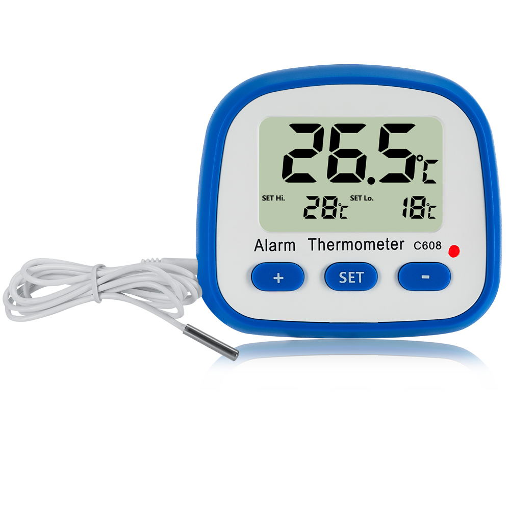 Digital Alarm Thermometer C608