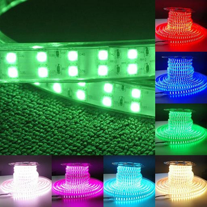 High Voltage SMD5050 120led/m RGB LED Strip Light