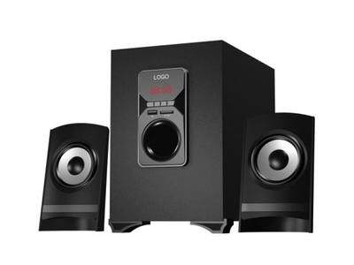 Computer Speaker 2.1 with Remote Control, FM, SD, USB (TSL-309)