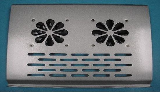 All Iron Two Fans Cooling Pad for 10-14inch Notebook Style No. CF-212