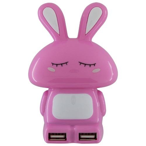 Rabbit Shape USB 2.0 Hub 4 Ports