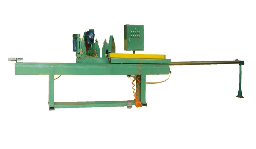abrasive wide belt front and back side edging machine