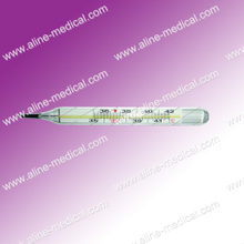 Metallic Liquid Non-mercury Thermometer