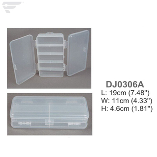 DJ0306A/B Two Side Cover Plastic Lure Box