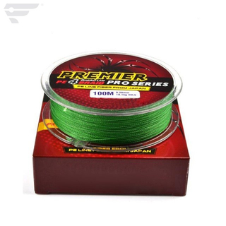 Pe Braided Fishing Line 4 Strands pure color 100m