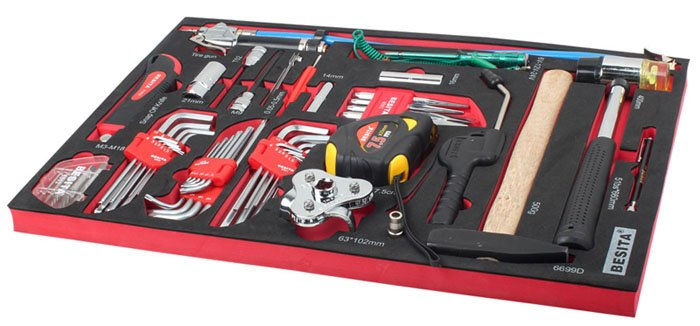 301PC BENZ Special Tool Trolley Set 6678