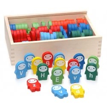 Wooden Domino Toys, Wooden Educational Toys