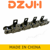 Roller Chain With M Attachments plates