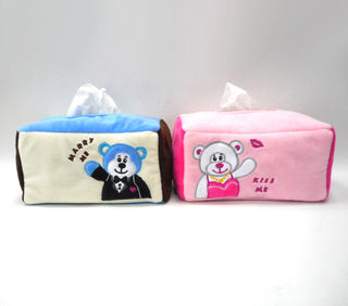 Super Cute Soft Stuffed Plush Tissue Plush Stuffed Facial Tissue Box