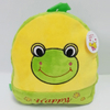 Plush Cartoon Pattern Frog Backpack for Kids