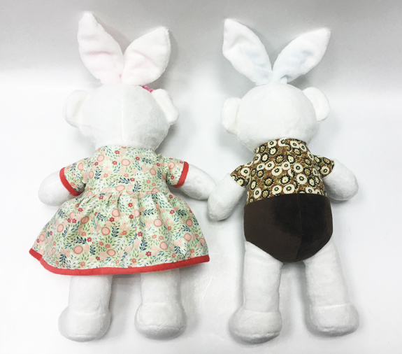 Lovely Couple Rabbit Promotion Soft Plush Bunny Rabbit Toys